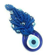 Nazat boncuk colgaduras 12cm llavero ojos de vidrio decorativas Evil Eye nz15