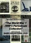 WORLD WAR 1 MAGAZINES ON DVD (1916-1918) WW1 GREAT WAR ILLUSTRATED NEWS HISTORY