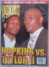 2005 Nov/Dec Boxing Digest Magazine Bernard Hopkins Vs Jermain Taylor II