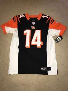 Cincinnati Bengals Andy Dalton Black Nike Elite Jersey MENS Size 44 MSRP $295