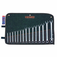 Wright Tool 752 12 Point Metric Combination Wrench Set, 7mm - 22mm (15-Piece)