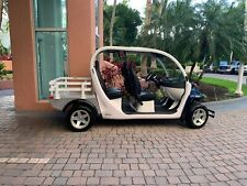 2015 GEM Polaris e4 electric golf cart