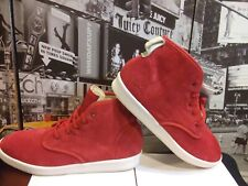 2009 ADIDAS RANSOM DUNE Red Suede Leather boots hi tops men's US 13 Rare