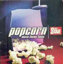 POPCORN MOVIE THEME TUNES - PROMO CD: STAR WARS, DR NO, ITALIAN JOB, ROCKY, JAWS