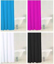 Einfarbige moderne Duschvorhänge
