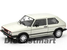WELLY 18039 1983 VW VOLKSWAGEN GOLF 1 GTI 1:18 DIECAST MODEL CAR WHITE