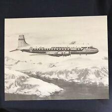 Vintage Douglas DC-6B Scandinavian Airlines Systems Vendor Aircraft Print