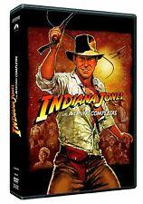 INDIANA JONES LA COLECCION COMPLETA DVD NUEVO ( SIN ABRIR ) ARCA TEMPLO CRUZADA