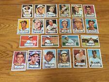 1952 TOPPS Reprint  St Louis Browns team set 22 cards
