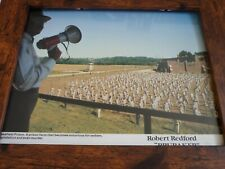 Framed Promotional Photo Lobby card 10x8 brubaker robert redford wakefield priso