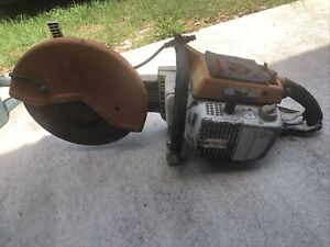 Stihl TS 760 Concrete Saw Parts Or Repair Only Does Not Run. 16""