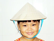 Lot of 5 small NON LA - Palm leaf conical hat for Children - Handmade Vietnam