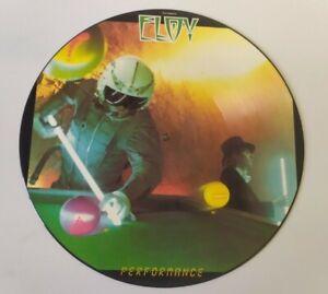 Eloy Performance picture disc LP vinyl album record UK HMIPD12 HEAVY METAL rare