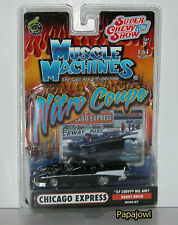 Muscle Machines Nitro Coupe 1957 Chevrolet Chicago Express Randy Adler 1:64 I