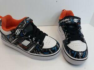 Heelys Skate Shoes Wheeled Light Up Youth Sz.4 Sneakers Bolt Plus X2 One Wheel