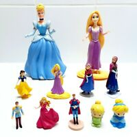 Disney Princess Toy Figures Cake Toppers Figurines Cinderella Rapunzel And More