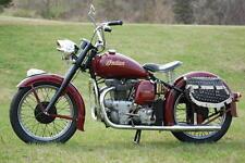 1949 INDIAN SUPER SCOUT MODEL 249 VINTAGE MOTORCYCLE POSTER 24x36 HI RES