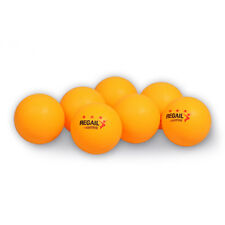3-Star 40mm 30/100pcs White Orange Plastic Table Tennis Ping Pong Balls Training