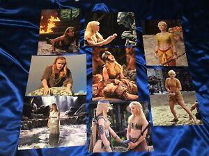 """ULTRA RARE Xena Premiere Photo Club December 2002 """"Gabrielle"""" Picture Set"""