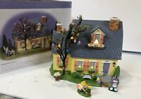 "Department 56 Snow Village Easter -""Happy Easter House"" Gift Set #55090 Rare"