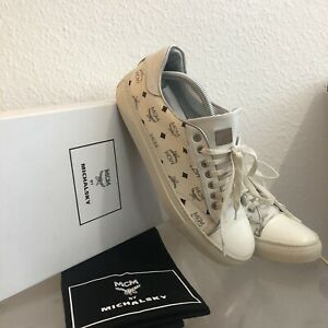 Original MCM by Michalsky Sneaker Urban Nomad Schuhe Weiß Silber Gr. 42