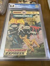 The Brave and the Bold   #121  CGC 5.0  ( Batman & Metal Men  )