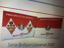 COFFRET 8 PIECES  BU 2020 MONACO 7000 EXEMPLAIRES