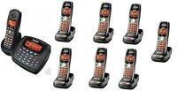 Uniden 2 Line Cordless Intercom Paging Dual Conference Phone System w 8 Handsets
