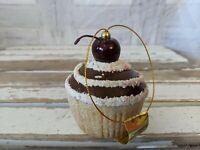 Mark Roberts cupcake ornament cherry chocolate Xmas tree