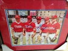 1993 Phillies All-Stars 11 x 14 Photo Signed by All 5 Framed