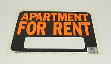 """Lot Of 5 Apartment for Rent Sign 9"""" x 12"""" #3001"""