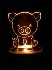 Pig Flashing Night Light - Small Novelty Gift for Kids