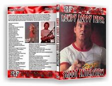 Roddy Piper Shoot Interview Wrestling DVD, WWF WWE NWA Hotrod WCW