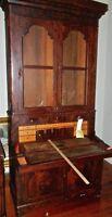 Antique  Mahogany  Secretary Desk  Federal Style 1800's  (Cat.#  55)