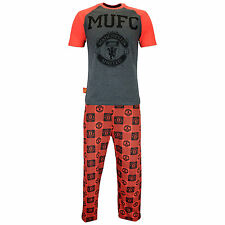 Manchester United Pyjamas | Mens Manchester Utd FC PJs | Man U Pyjamas | Mens PJ