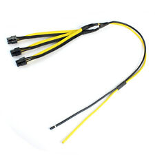 S7/S9 to Triple 3X PCI-E PCIe PCI Express 6Pin Graphic Card Splitter Power Cable