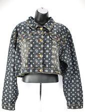 Old Skool Womens Jacket 3X Plus short Shrug Jean Denim Classic xxx