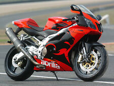 APRILIA TOUCH UP PAINT 05-06 RSV1000R ETC ROSSO FLUO .