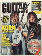 KORN GUITAR WORLD MAGAZINE HEAD MUNKY LAMB OF GOD DARON MALAKIAN DECEMBER 2003!