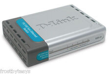 D-Link 5 Port 10/100 Fast Ethernet Switch DSS-5+ Dlink with A/C Adapter