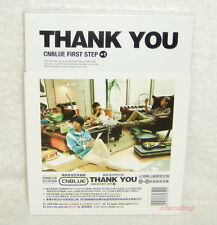 CNBLUE First Step +1 Thank You Taiwan Ltd CD +40P