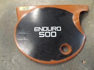 Yamaha 500 XT XT500 TT500 Used Side Cover