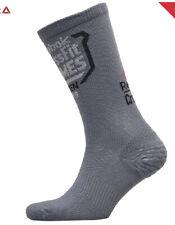 Reebok CrossFit Open Crew Socks In Grey BRAND NEW UK 4.5-6