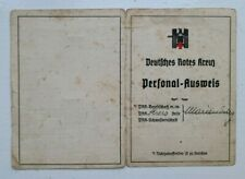 More details for 1940 ww2 german i.d card, of a german nurse - personal-ausweis