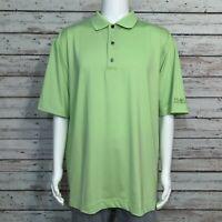 FootJoy Golf Polo Shirt XL Men's Bright Green Nucor Steel Jackson Inc.