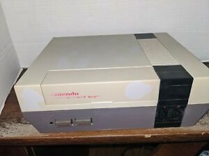 Nintendo Entertainment System NES Video Game Console Untested Parts Only/ REPAIR