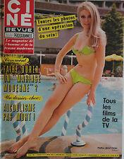 Ciné Revue n°16- 1969 : Gene Kelly Steve McQueen Elke