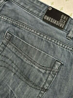 ONESIX5IVE jeans designer Indigo washed W42 L32 Straight Leg onesixfive