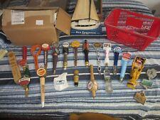 Beer Tap Handle Lot 20 Handles Figural Micro Brew Shiner Sprecher Sam Adams Rare