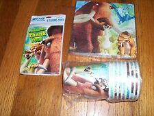 3pc Lot Party Express Ice Age Dawn Dinosaur Birthday Multi-color Party Goods NOS